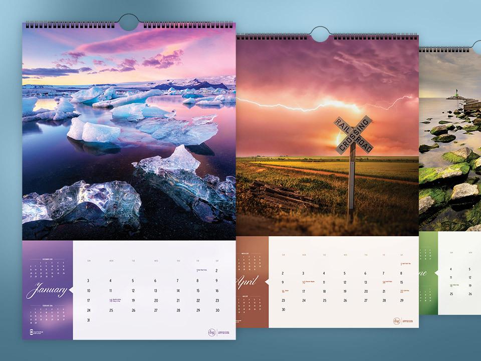 DSG 2016 Calendar Closeup